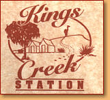 Kings Creek Station - Tourism Bookings