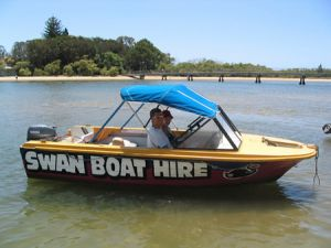 Swan Boat Hire - Tourism Bookings